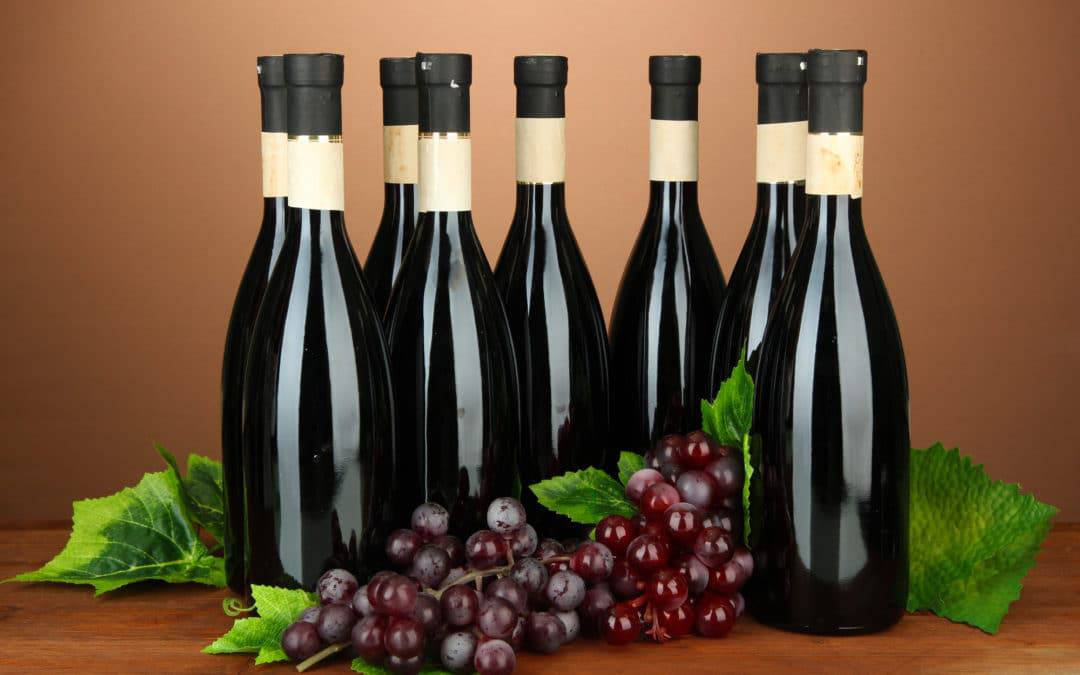 Vinskab til 8 flasker
