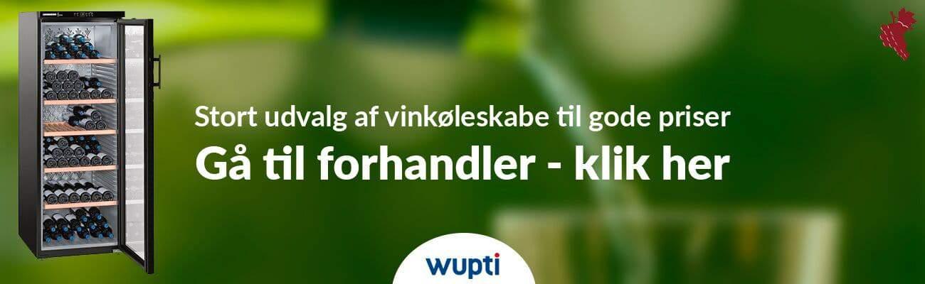 Vinkøleskabe banner WUPTI